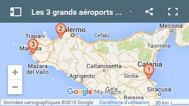 Carte Sicile Aeroport.Pour Bien Se Reperer Dans Les Aeroports De Sicile