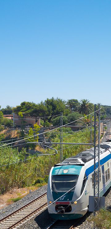 Sicily - Travelling with Trenitalia