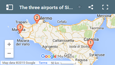 How to find your way round Sicily's airports
