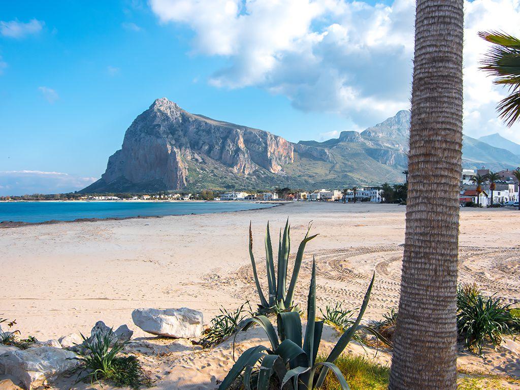 Sizilien + San Vito Lo Capo: Strand und Land
