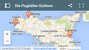 flughäfen sizilien karte Sizilien ☀ Die definitven Flughafen Tipps flughäfen sizilien karte
