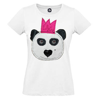 Sizilien - Mode - Filly Biz - T-Shirt - Panda